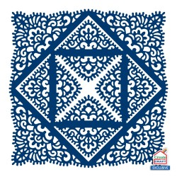 (ACD1259)Tattered Lace Lace Fancies Square