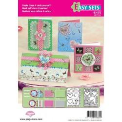 Pergamano Easy card set butterfly kisses 1 (71005)
