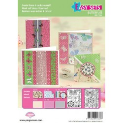 Pergamano Easy card set butterfly kisses 2 (71006)