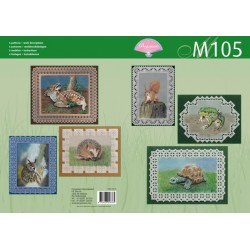 Pergamano M105 Forest animals