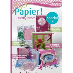 Pergamano Papier special no.9 Butterfly kisses NL (81092)