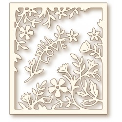 (SD0066)Wild Rose Studio`s Specialty die - Flower frame