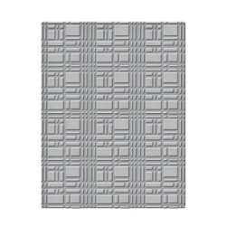 (SES-003)Spellbinders Embossing Folder - Grid