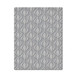 (SES-004)Spellbinders Embossing Folder - Ripples