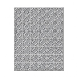 (SES-006)Spellbinders Embossing Folder - Circles and Diamonds