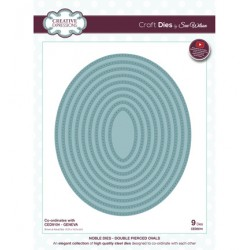 (CED5514)Craft Dies - Double Pierced Ovals