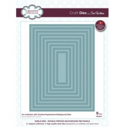 (CED5512)Craft Dies - Double Pierced Rectangle