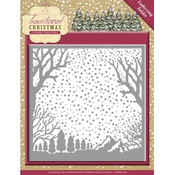 (YCEMB10007)Embossing Folder - Yvonne Creations - Traditional Ch