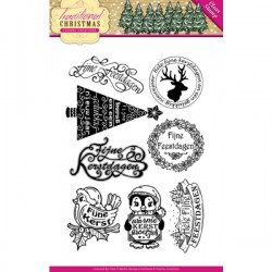 (YCCS10022)Clearstamp - Yvonne Creations - Traditional Christmas