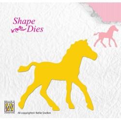(SD107)Nellie's Shape Dies horse