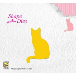 (SD108)Nellie's Shape Dies pussycat