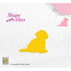 (SD109)Nellie's Shape Dies puppydog