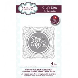 (CED9402)Craft Dies - Ornate Framed Happily Ever After