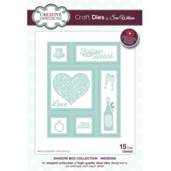 (CED9302)Craft Dies - Wedding