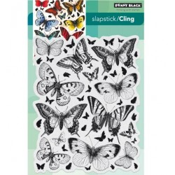 (40-442)Penny Black Stamp Butterfly charmer