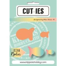 Dies Cut-ies Ocean Babies - Fish