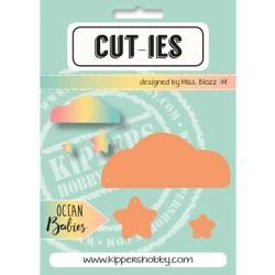 Dies Cut-ies Ocean Babies - Cloud-Stars