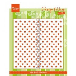 (DF3427)Marianne Design Embossing folder Little Stars