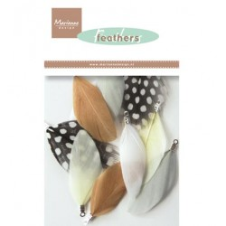 (CA3128)Marianne Design Feathers: Natural