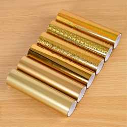 (18182)TODO Pack Of 6 Gold Tonal Foils