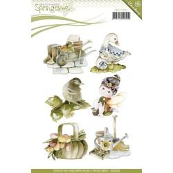 (PMCS10009)Clearstamp - Precious Marieke - Springtime