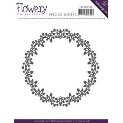 (PMEMB10008)Precious Marieke - Embossing Folder - Flowery