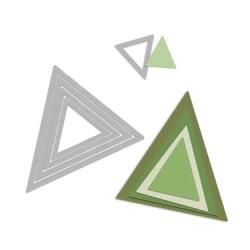 (657570)Framelits Die Set banner pennant plain