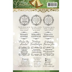 (PMCS10013)Clearstamp - Precious Marieke - Spirit of Christmas -