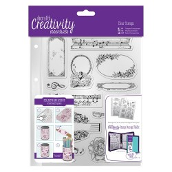 (DCE907112)A5 Clear Stamp Set (14pcs) - Musicality