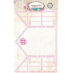 (CARDSHAPERS01)Studio light stencil Romantic Summer nr.01