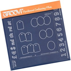 (GRO-WO-40133-11)Groovi Plate A5 Insert Numbers
