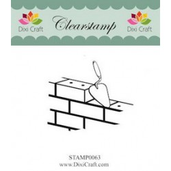 (STAMP0063)Dixi Clear Stamp bricks