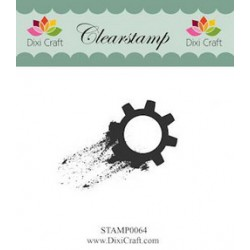 (STAMP0064)Dixi Clear Stamp gear
