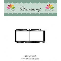 (STAMP0065)Dixi Clear Stamp filmstrip