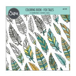 (661532)Coloring Book - Fox Tales