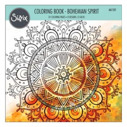 (661531)Coloring Book - Bohemian Spirit