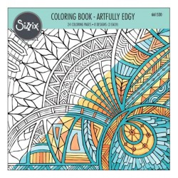 (661530)Coloring Book - Artfully Edgy