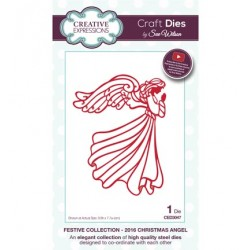 (CED3047)Craft Dies - 2016 Christmas Angel