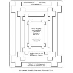 (TP7511EC)PCA® EasyCut Woven Corner Frames - XL