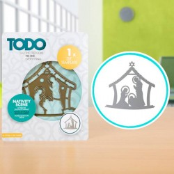 (370382)TODO Die Template Nativity Scene