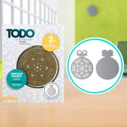 (370366)TODO Die Template Set Timeless Bauble