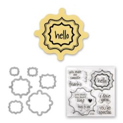 (657582)Framelits Die Set w/stamp lab fancy 2