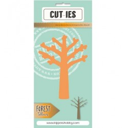 Dies Cut-ies Forest Fellows Tree Large