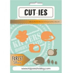 Dies Cut-ies Forest Fellows Snail Hedgehog Autum