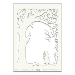 (STE-FY-00192-A5)Claritystamp Art Stencil A5 Fairytale