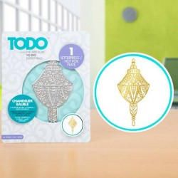 (20992)TODO Hot Foil Press Chandelier Bauble