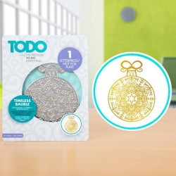 (20993)TODO Hot Foil Press Timeless Bauble