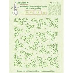 (35.2557)Embossing folder Leaves