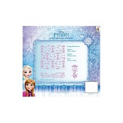 (EFDL006)Disney Frozen - Olaf Embossing Folder