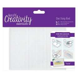 (DCE903102)Docrafts A6 Clear Stamp Block